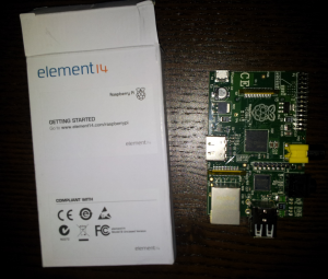 Element 14 Raspberry Pi